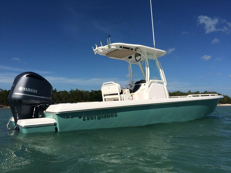 yacht works, tavernier, florida keys, bayside, center consoles, 243cc, fishing, diving, snorkeling, yamaha