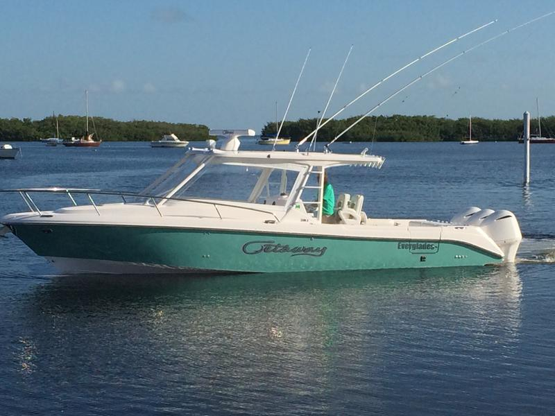 yacht works, everglades, boats, fishing, center console, yamaha, outboards, tavernier, florida, cruising, yacht, 350LX,keys,