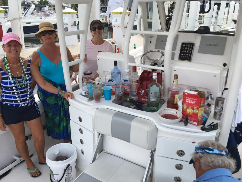 Everglades, dealer meeting, boats, luxury, center consoles, yacht works, tavernier, florida