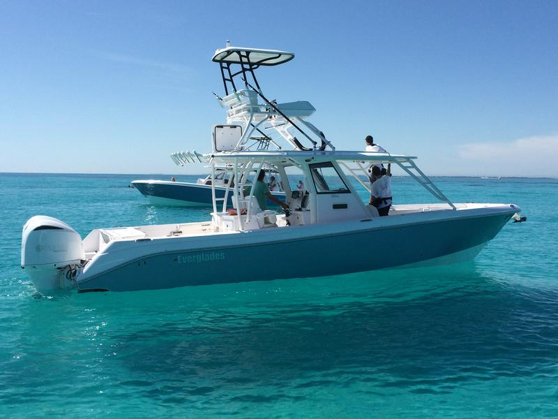 everglades 355CCX, 2015, second station, south florida, keys, yacht works, boat,
