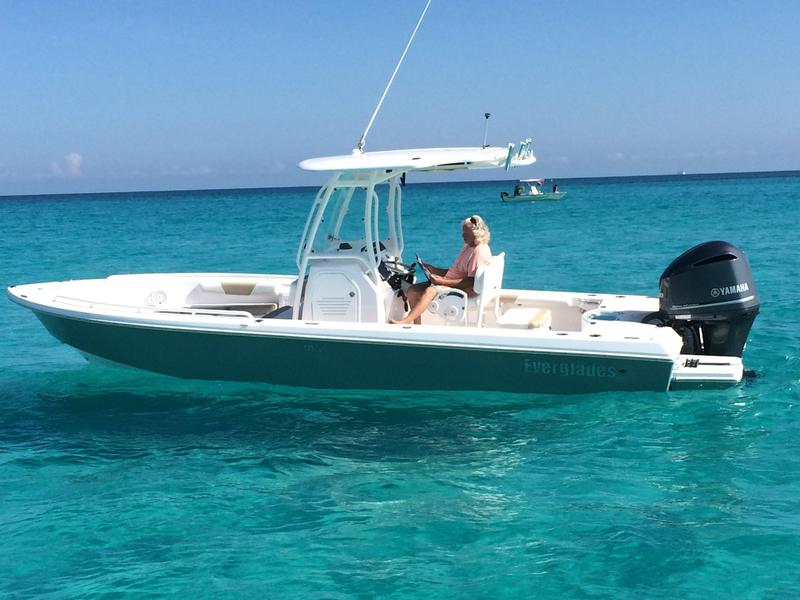 Everglades Boats, 243cc, center console, bay boat, Florida Keys, fishing, diving, sand bar,